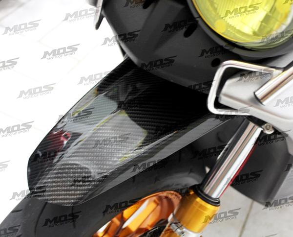 MOS Carbon Fiber Front Fender for Yamaha Zuma 2009-2019 BWS 125