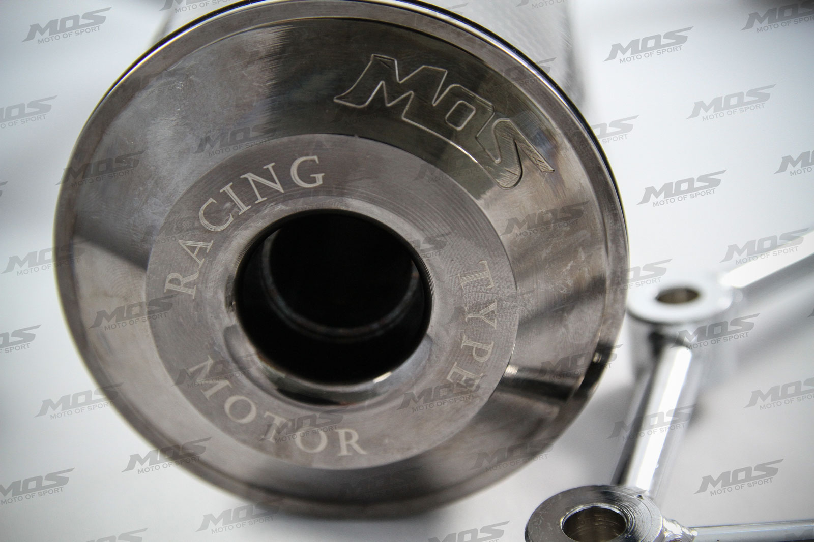 2009-2015 Yamaha Zuma 125cc Carbon Fiber Racing Muffler Sport