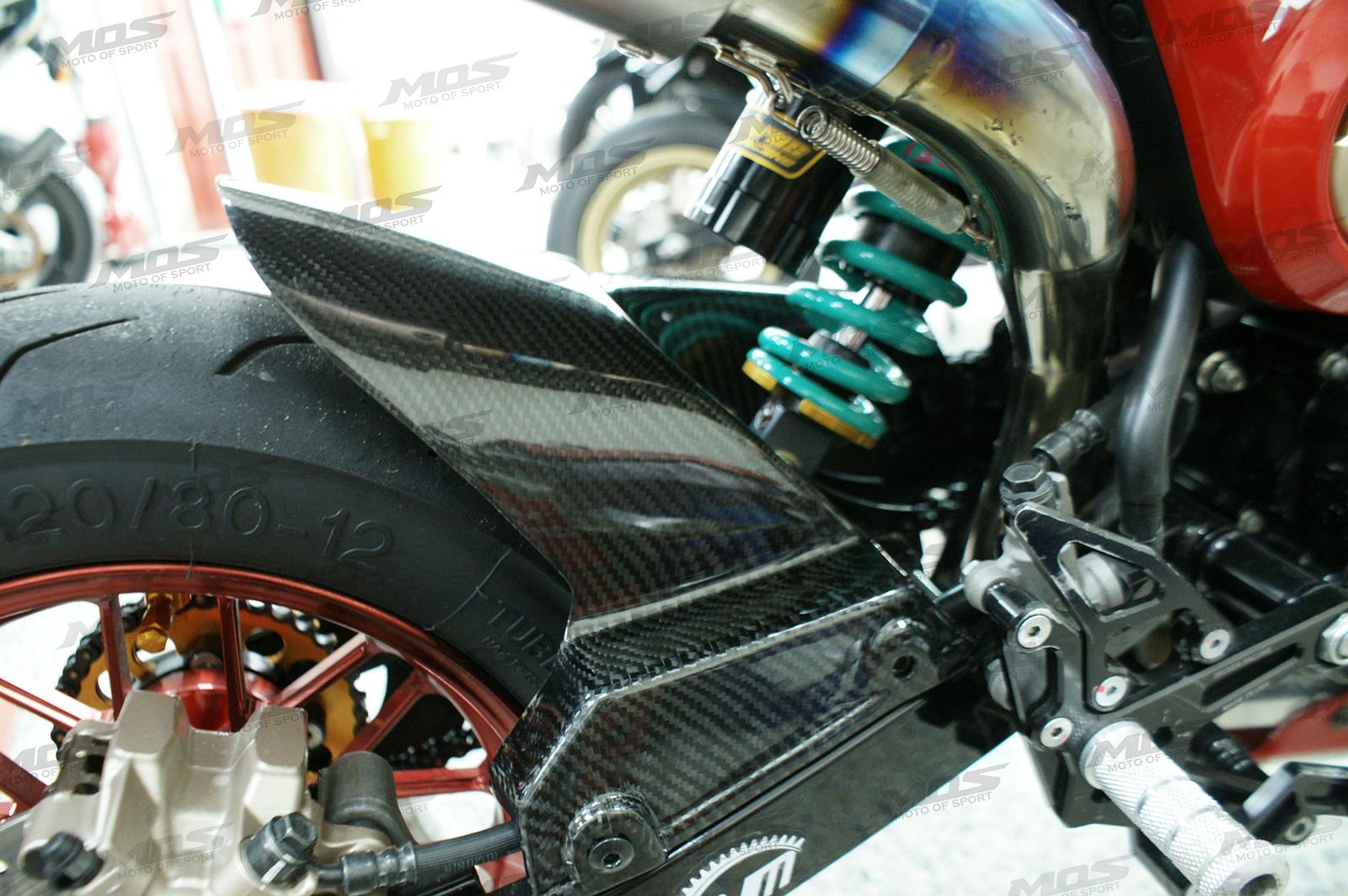 Honda Grom 125cc Carbon Fiber Rear Fender