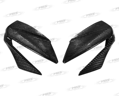 GSX-S150碳纖維車頭左右飾蓋、Carbon Fiber Headlamp Trim Covers for Suzuki GSX-S150 / GSX-S125 2017-2019