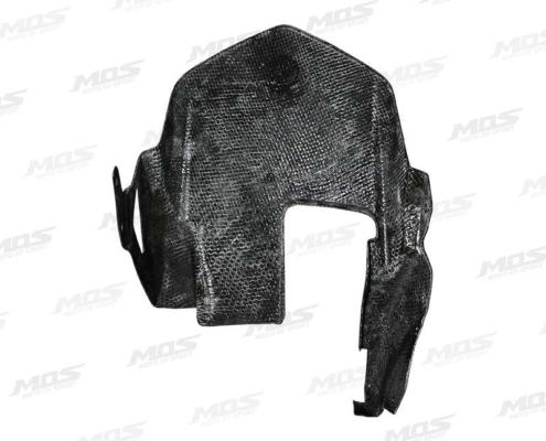 Carbon Fiber Rear Fender Tire Hugger Mudguard for Kawasaki Z1000 Z1000SX Ninja 1000 2014-2016、