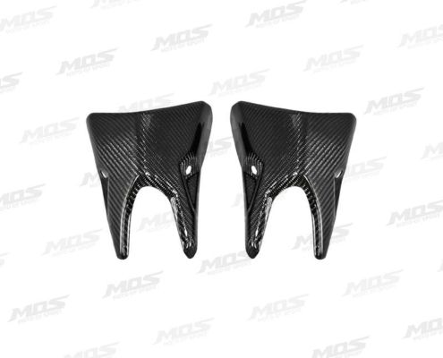 Carbon Fiber Muffler Guard Covers for Kawasaki Z1000 2014-2020 Z1000R 2017-2020、Z1000(14-16)碳纖維排氣管前段蓋組、