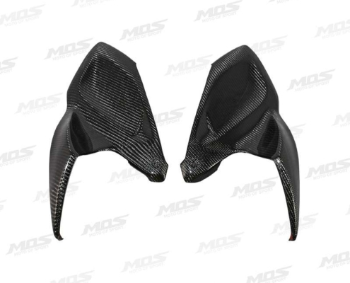 Carbon Fiber Fuel Tank Front Side Covers for Kawasaki Z1000 2014-2020 Z1000R 2017-2020、Z1000(14-16碳纖維)油箱左右側蓋、