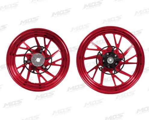 X-MAX鍛造輪框-金 右側